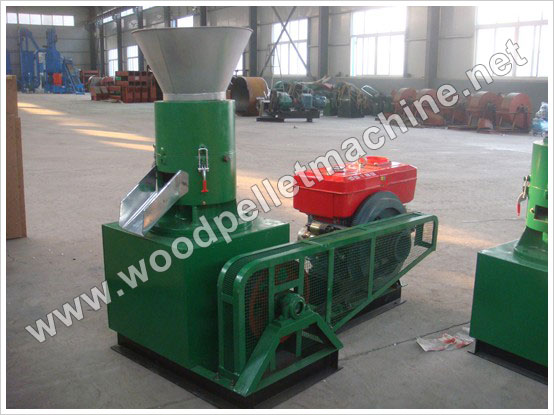 diesel pellet mill for wood pellets