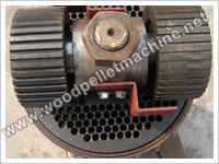 roller turning flat die mill