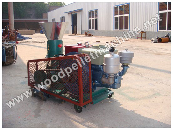 small capacity diesel pellet mill