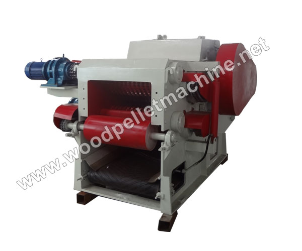 drum wood chipping machine