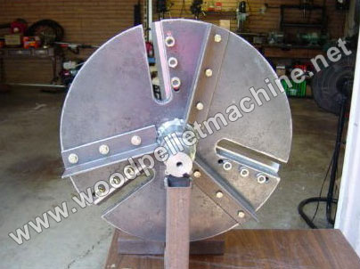 wood chipper disc and knife