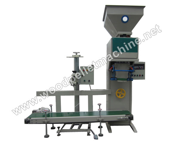 wood pellet bagging machine
