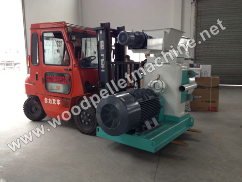 ring die wood pellet mill packing