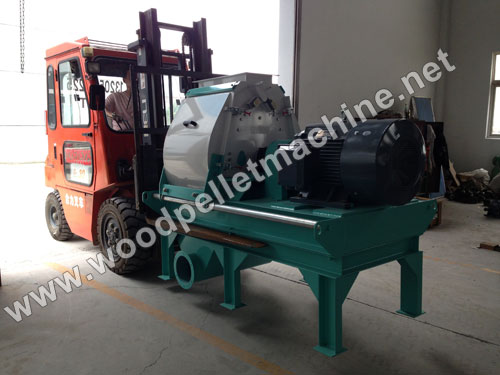 wood hammer mill packing